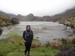 Hiking at Cajas National Park