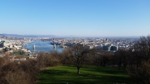 Views of Budapest from Gellert Hill. One of my favorite gems of the trip