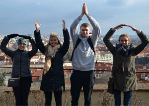 O-H-I-O! from Prague Castle