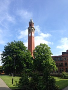 Old Joe on the campus of the University of Birmingham