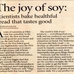The Joy of Soy