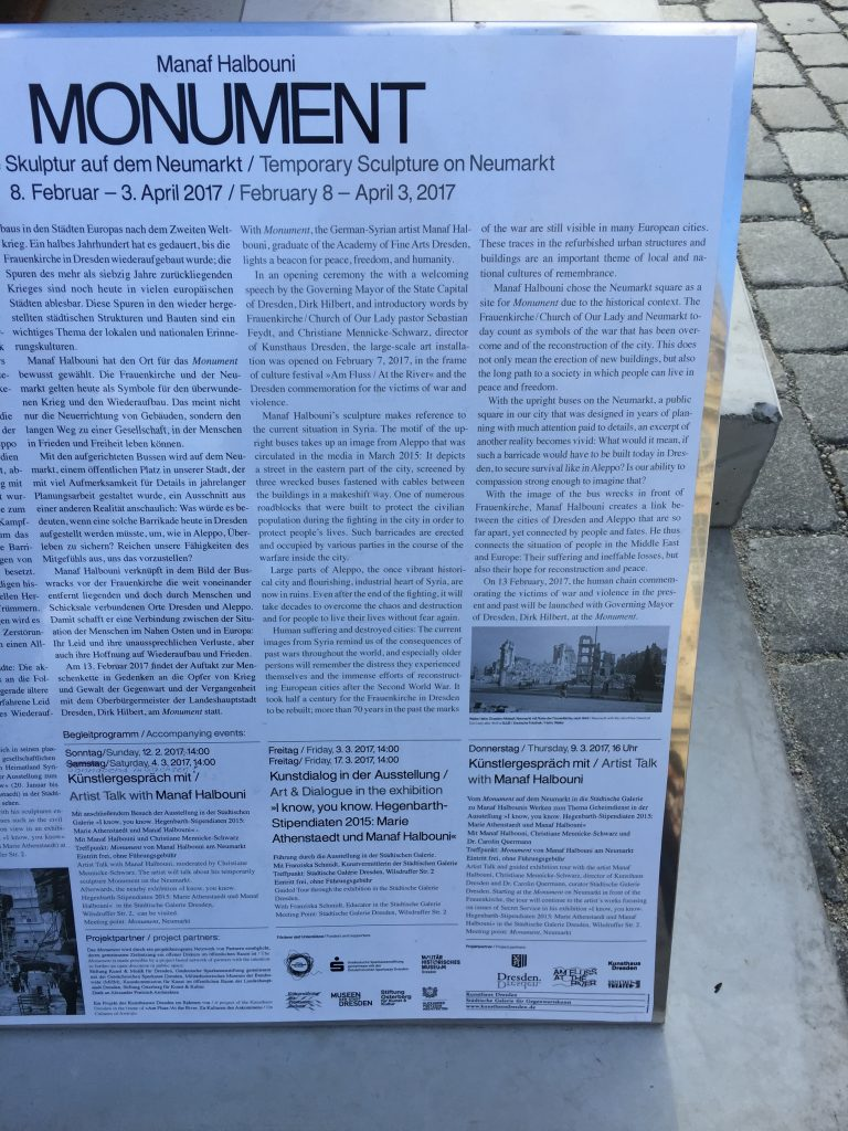 Information on the monument