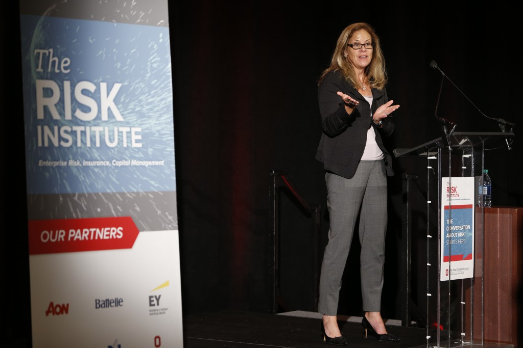 Helga Houston speaks at Risk Institute Annual Conference 2016