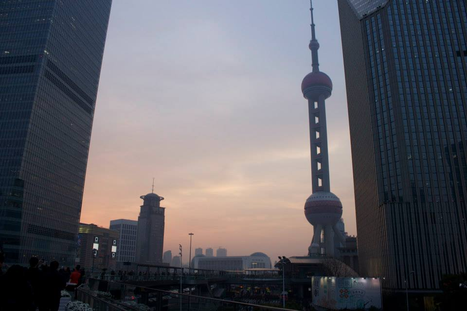 Pearl Tower in Shanghai