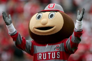 The photo is the mascot of OSU. (Photo Source: Yahoo images. )