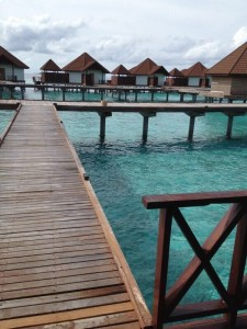 It is the Water House in Maldives, and it was shot by me.