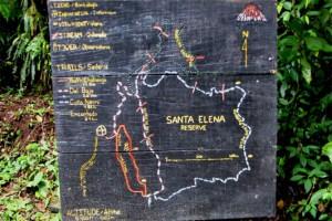 santa-Elena-trails-map-sign