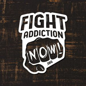 Fight Addiction Now website button