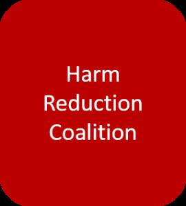 Harm Reduction Coalition button