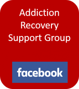 Addiction Recovery Support Group button