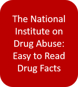 The National Institute on Drug Abuse Easy to Read Drug Facts button