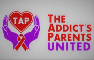 The Addict Parents United link button