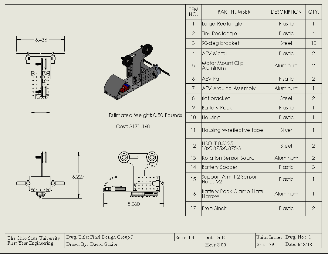 Final Performance Test Design | Watts Scientific