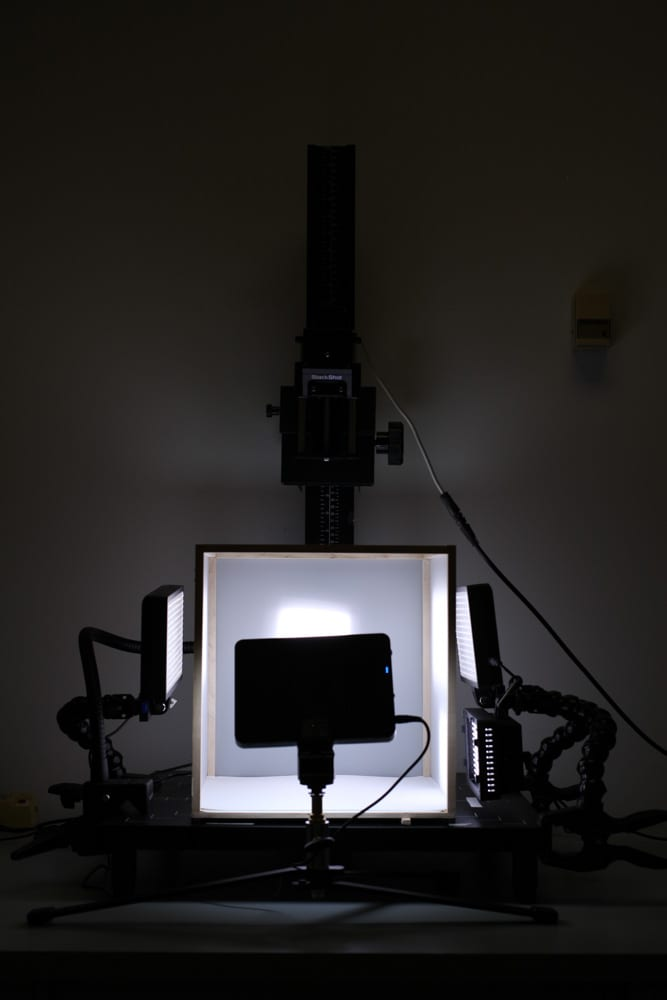 Imaging stage and setup.
