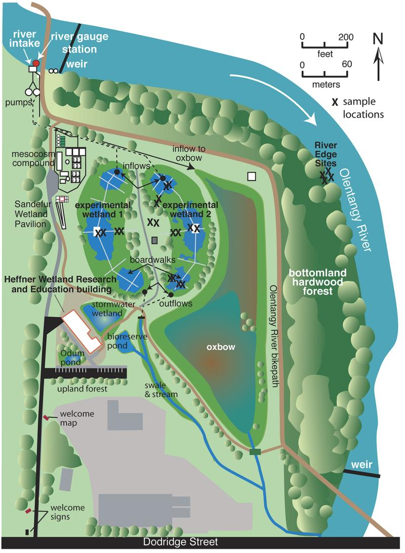 Image result for The Wilma H. Schiermeier Olentangy River Wetland Research Park map