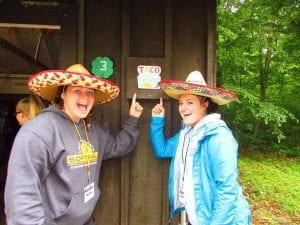 Counselors at Camp