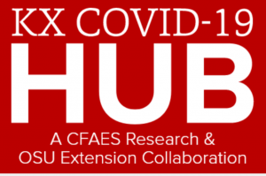 Knowledge Exchange Hub for COVID-19 graphic