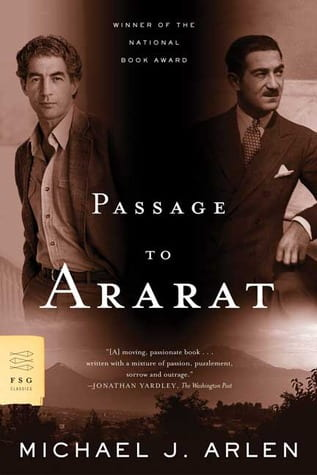 Passage to Ararat Book Cover