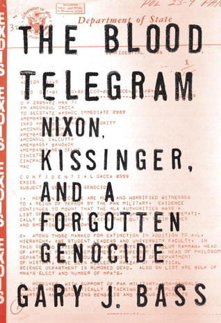 The Blood Telegram book cover