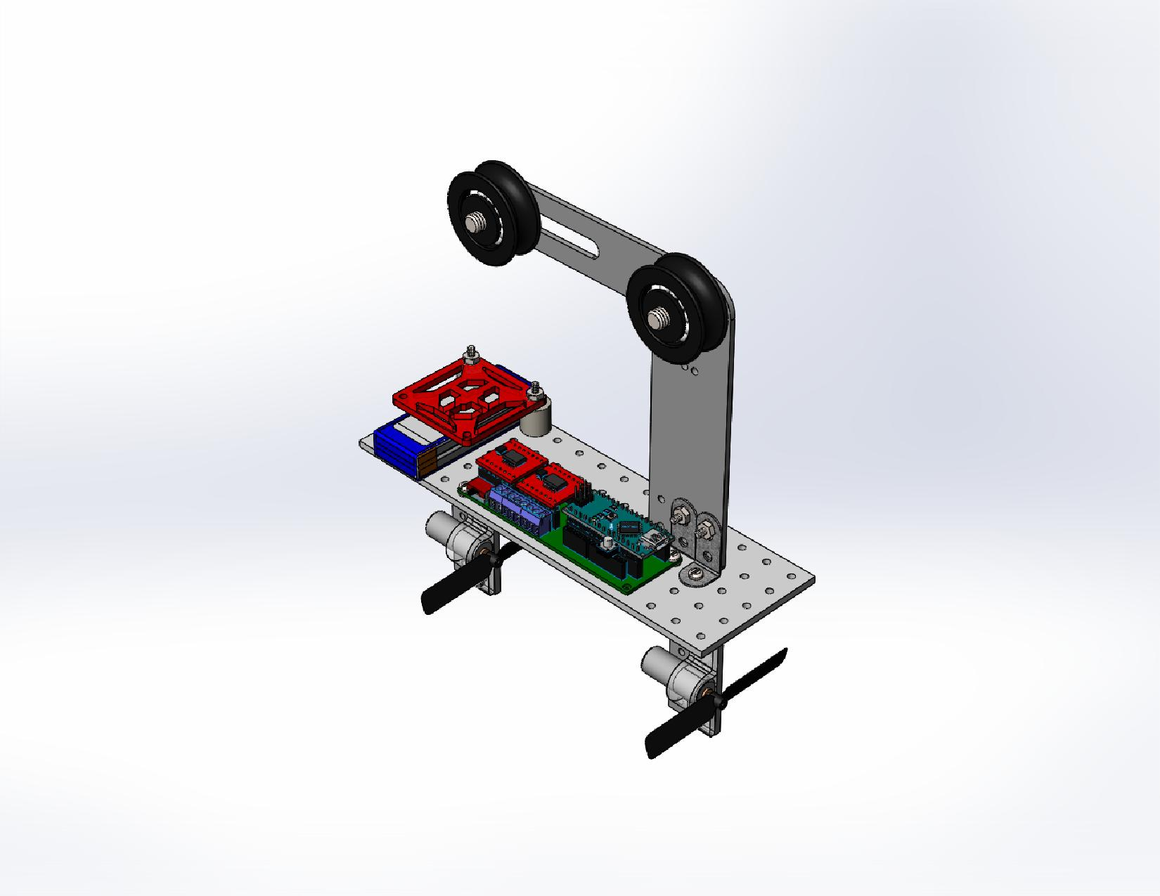 SolidWorks Model | ENGR 1182 Fall 2015 Group G