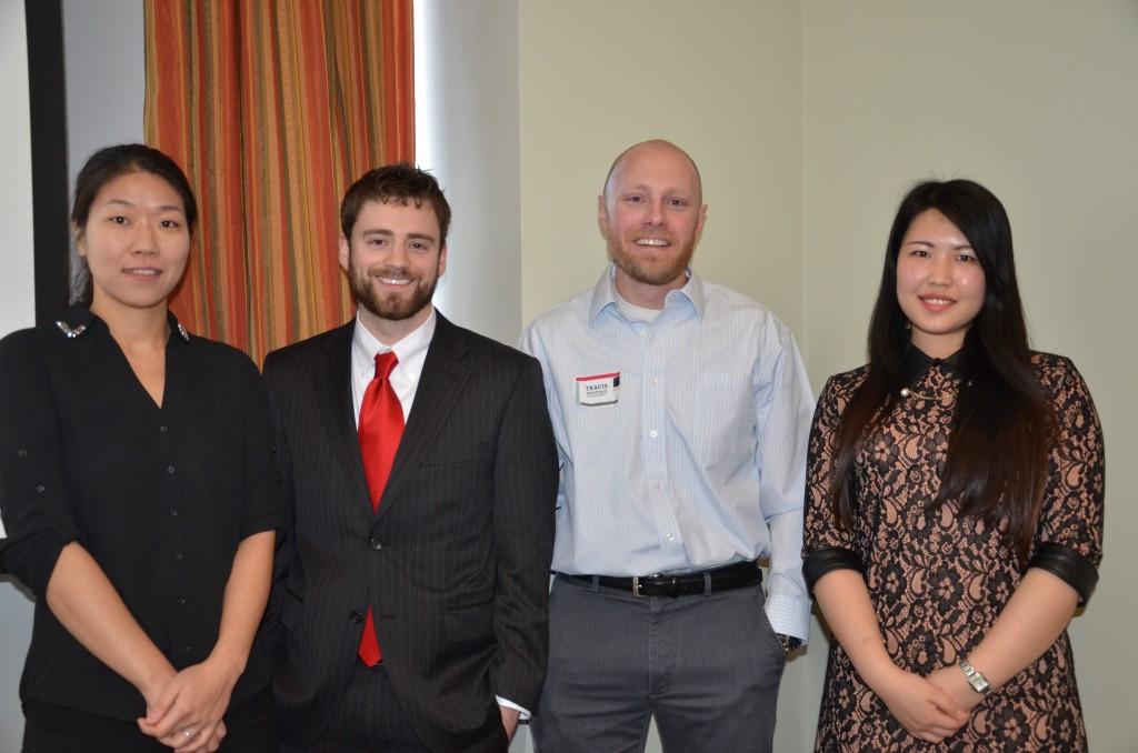 Su Yun Bae, Stewart Heckman, Travis Mountain and Tingting Zhang