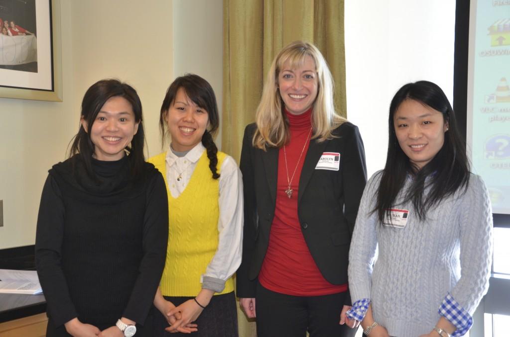 Ya-Li Wu, Cynthia Lin, Carolyn Kaplan and Ruilan Zhao