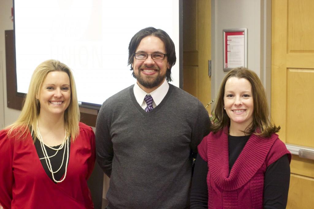 Mary Sawyer, Eliseo Jimenez and Christine Rouse