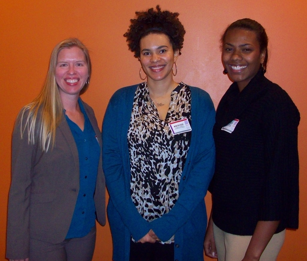 Session III Oral Presenters - Hayes Cape Room (from left): Kathleen Farrand, Brooke Harris Garad & Ashley Patterson.