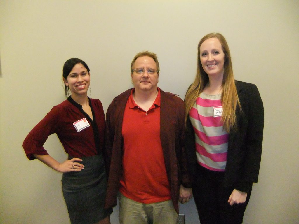 From left: Jennifer Cotto, William Dupont, Emily Phillips.
