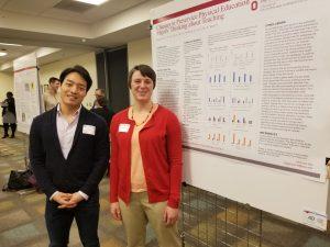 From left: Kyuil Cho & Kelsey Higginson