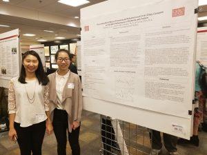 From left: Yu Ling Chen & Tangchen Li