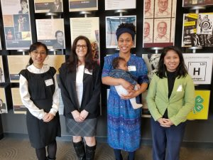 Session I Round Room (from left): Jin-kyung Lee, Julie Maynard, Allison Ragland, Vinta Tiarani. Not pictured: Trudy Giasi.