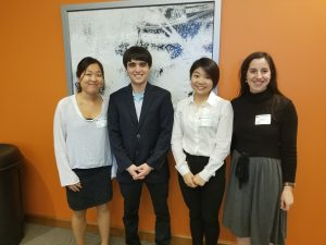 Session II Hayes Cape Room (from left): Sugene Cho, Micah Gerhardt, Meingold Hiu-Ming Chan, Catherine Van Fossen.