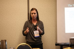 Letitia presenting at NCFR