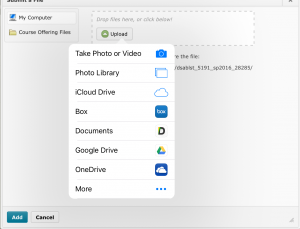 Tip to the TOP: Upload Files from your iPhone/iPad | OSU