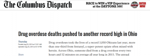 Columbus Dispatch headline