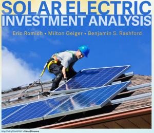 Solar Bulletin Series