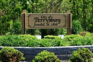 The City of Perrysburg sign