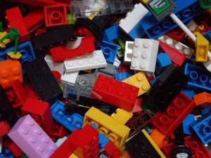 Image of pile of Legos