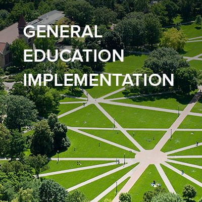 Ohio State's general education implementation