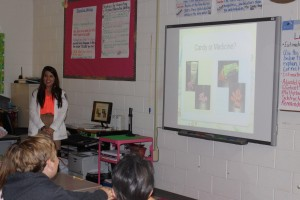 Members of University of Mississippi's Generation Rx provide presentations to middle school and high school students and are expanding to create presentations for younger individuals. (Photo courtesy of R. Strait and K. C. Stephens)