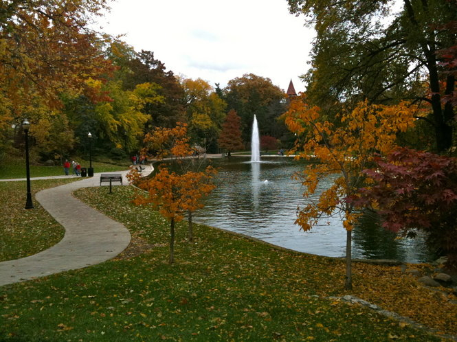 Image result for mirror lake ohio state