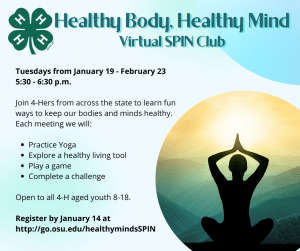 Promotion for Healthy Body Healthy Mind SPIN Club