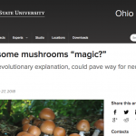"​Why are some mushrooms ""magic?"""