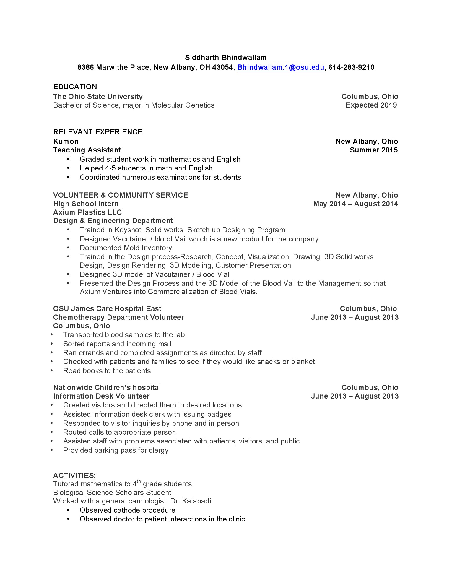 kumon resume - Gidiye.redformapolitica.co
