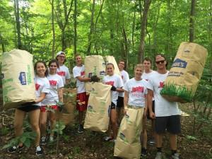 Volunteering at Community Commitment!