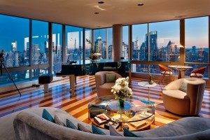 It is my dream to live in a penthouse in New York City.