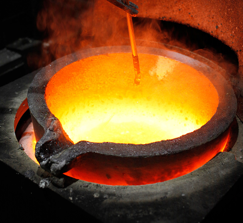 Refining and Smelting | Diamond Jewelry Commodity Chain