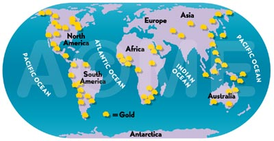Gold panning and mines diamond jewelry commodity chain figure 31 gold map gumiabroncs Images
