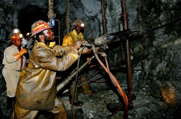 Figure 3.4 South African Hard Rock Mine